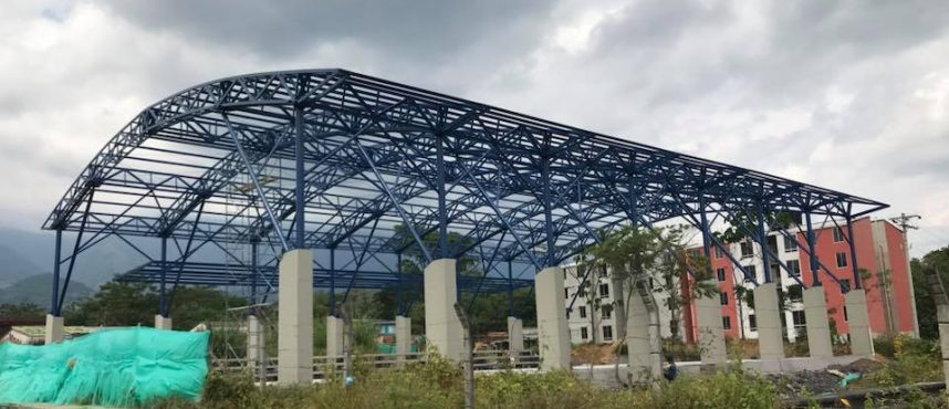 Estructura Metálica de Polideportivo en Restrepo (Meta)